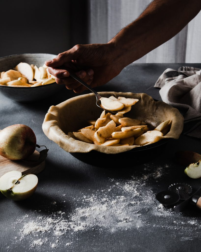 apple pie con pasta brisée