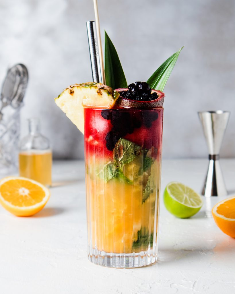 Cocktail healthy analcolico Color Boost