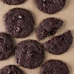 vegan tahini chocolate cookies veggie situation