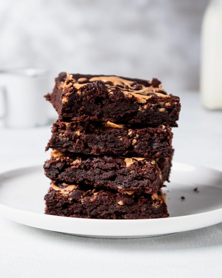 Brownies vegani ai fagioli neri