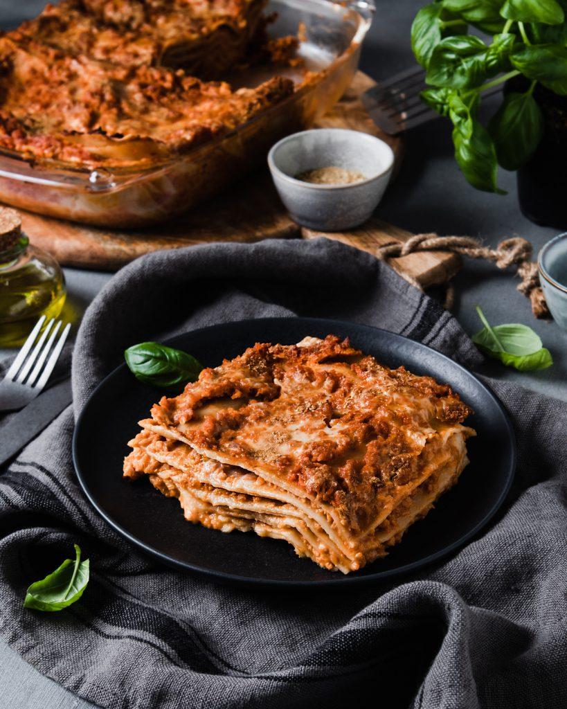 Ricetta Lasagne Vegane.Lasagna Vegana Con Ragu Di Soia Veggie Situation