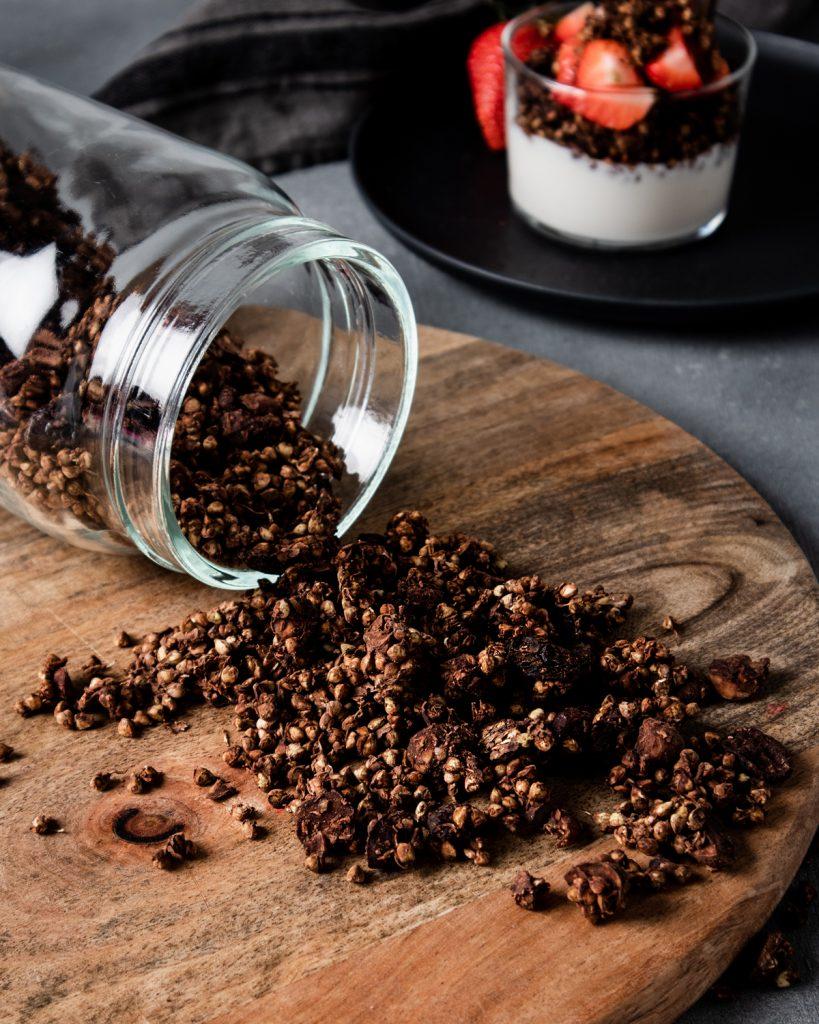 Granola raw al grano saraceno