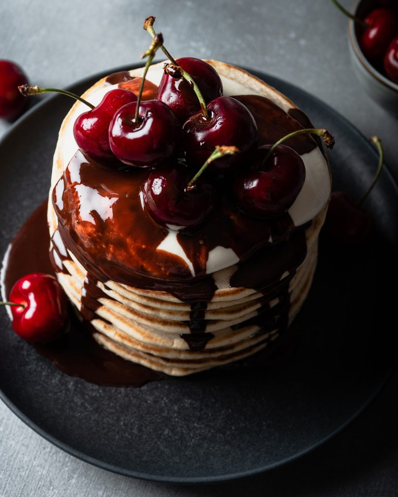 pancakes vegani senza zucchero breakfast club