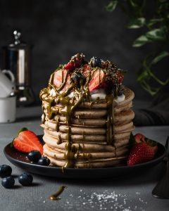The Breakfast Club: Pancakes Veg