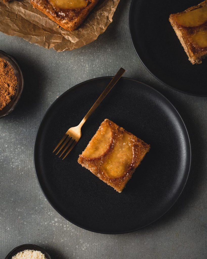 torta mele rovesciata